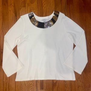 Mercer Street Studio Sequence XL Women's Sweater